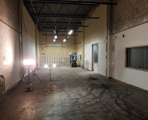 Labs Under Construction